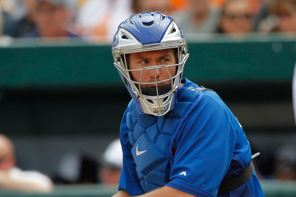 Your 2014 Blue Jays Opening Day catcher.