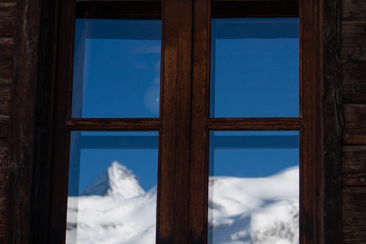 Winter In Valle D'Aosta, Italy