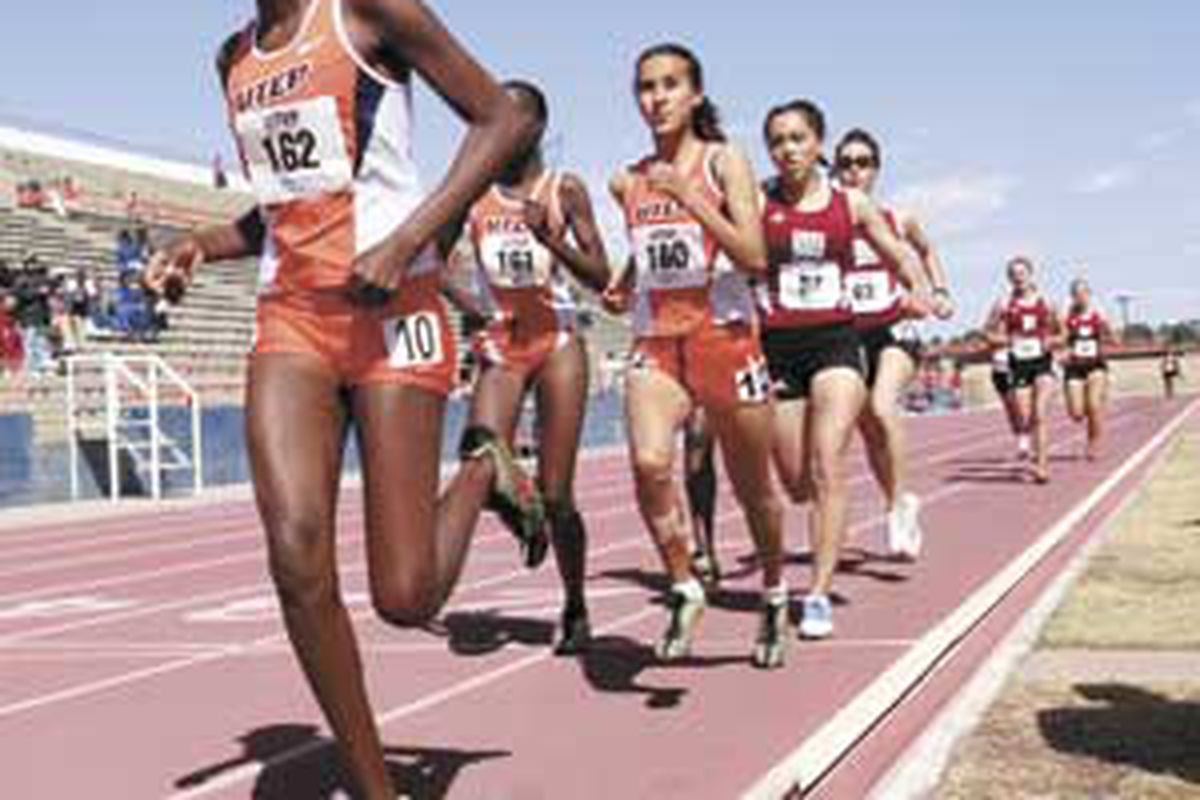 """The UTEP Track and Field team continued an impressive run at the NCAA West Preliminaries in Austin, TX.  via <a href=""""http://www.utepprospector.com/polopoly_fs/1.1288520!/image/2081759472.jpg"""">www.utepprospector.com</a>"""
