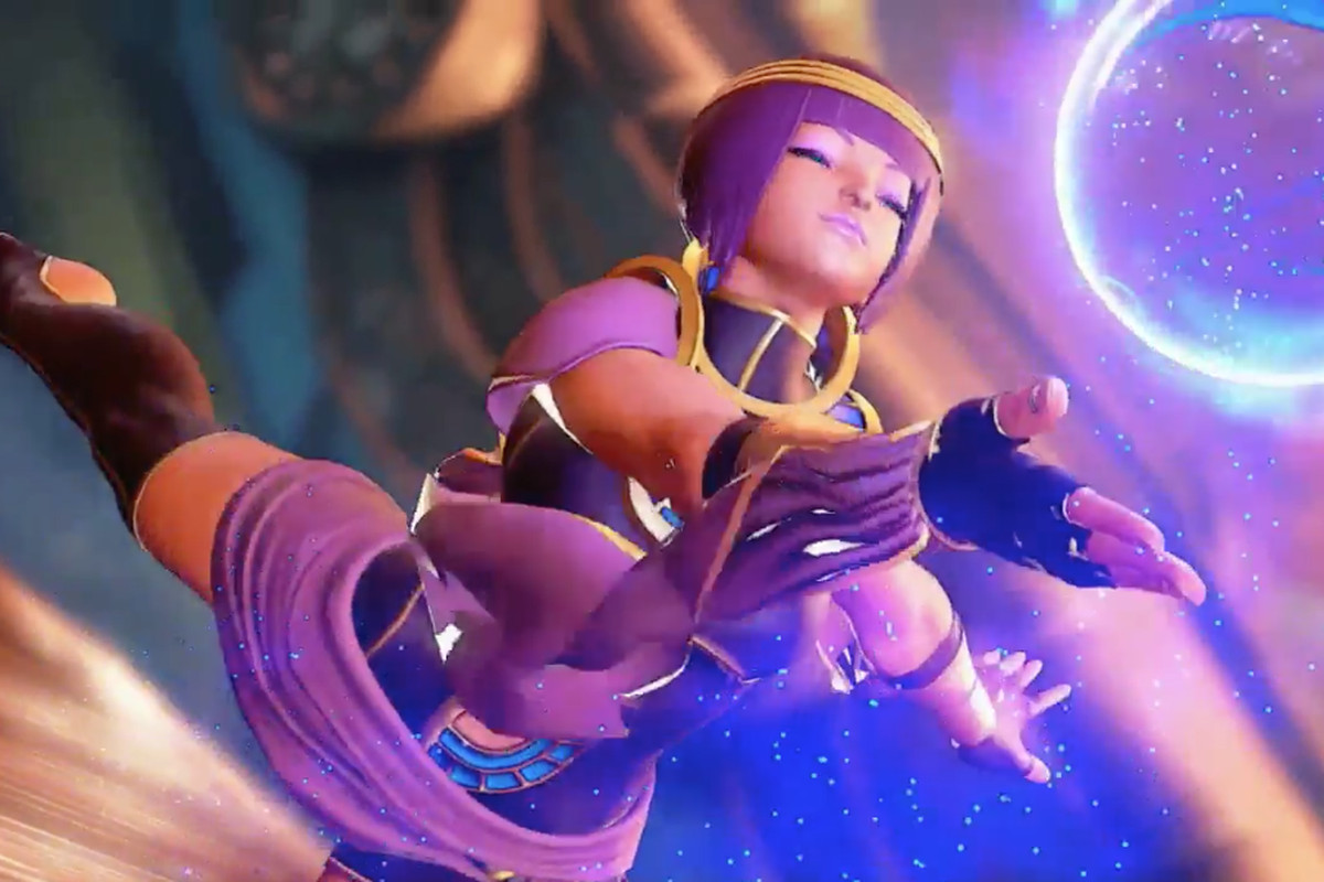 Street Fighter V's New Character Revealed: it's the Beautiful Menat