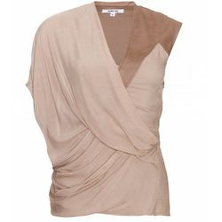 Helmut Lang Tuck Top, was $360, now $180