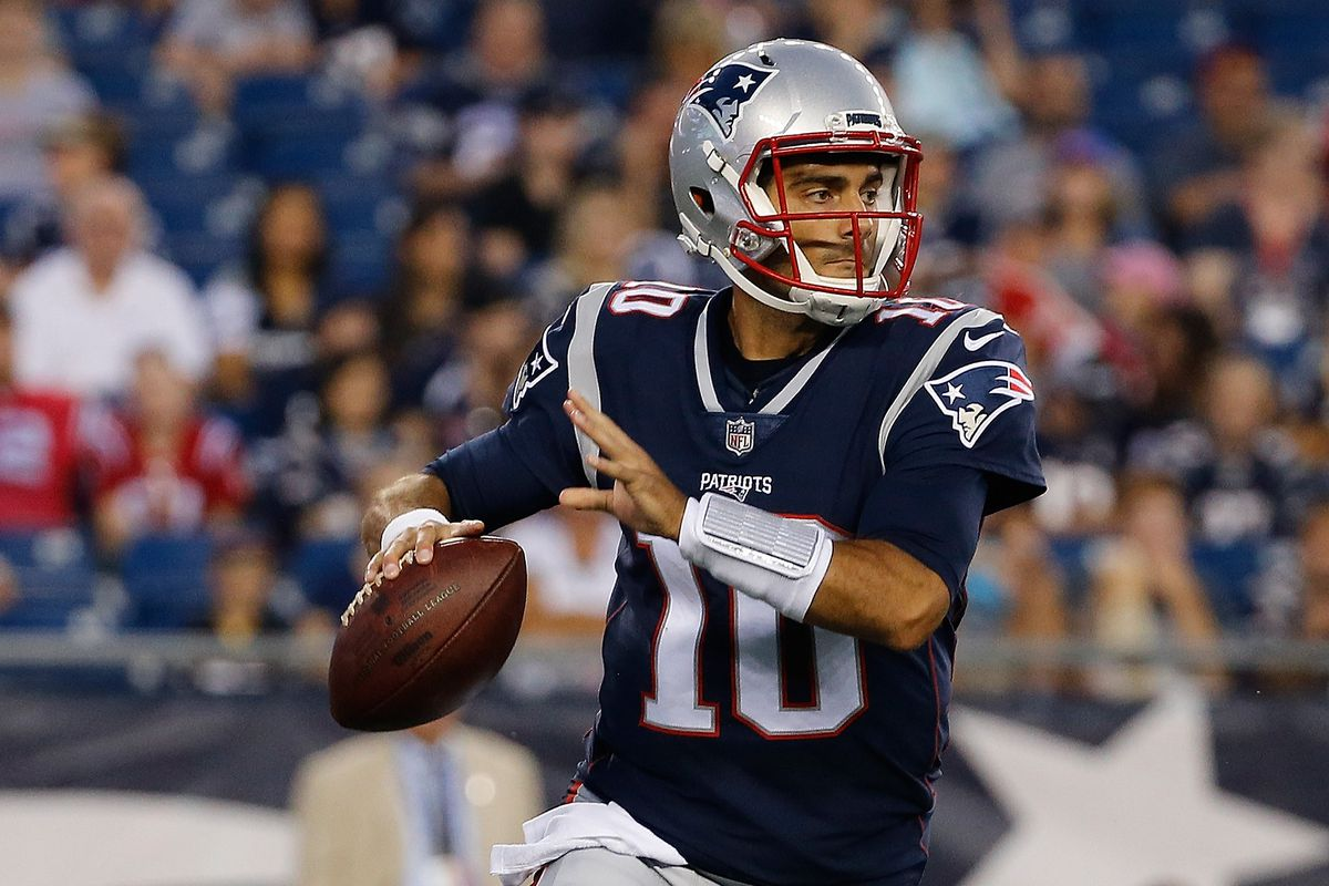 Schefter  Patriots traded Jimmy Garoppolo to get him out of the AFC ... cbb48bafc