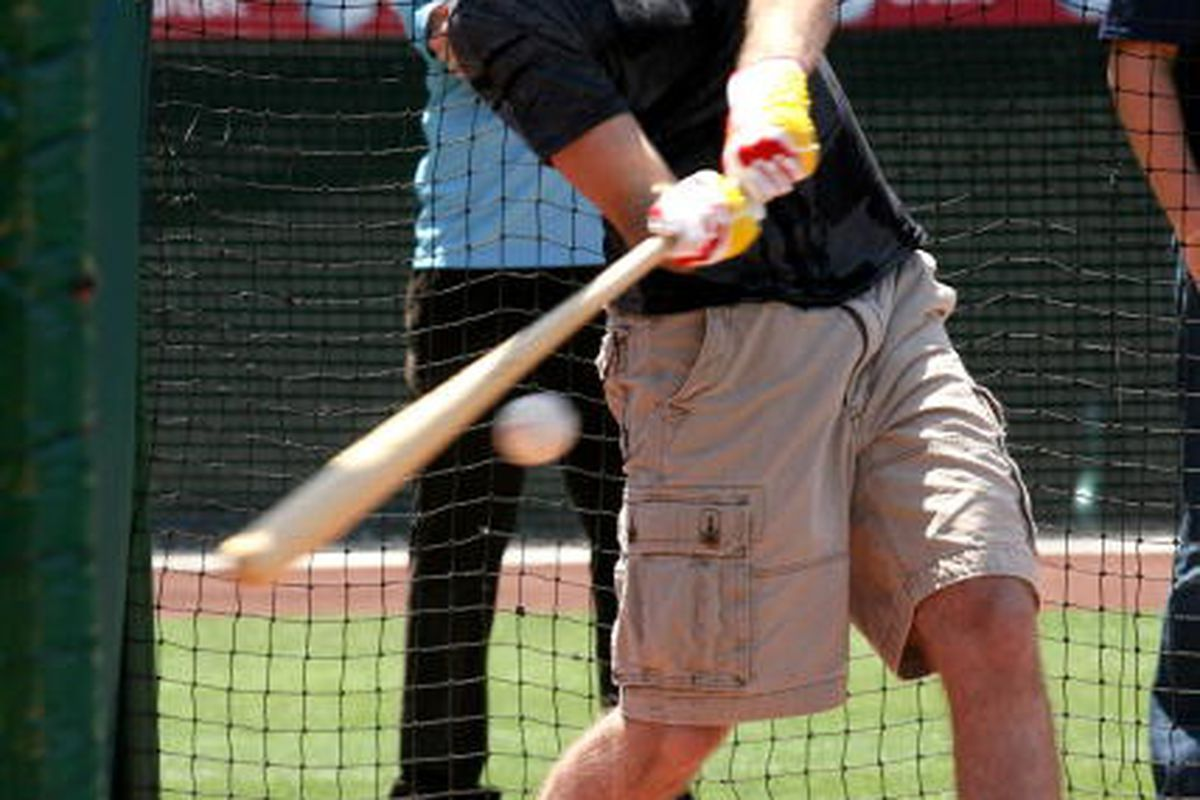 Courtesy of picapp.com: Brett Connolly attends the Top NHL Draft Prospects At Batting Practice at Angel Stadium of Anaheim on June 23, 2010. (Photo by Maury Phillips/Getty Images for NHL)
