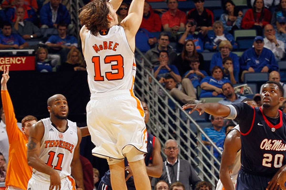 Skylar McBee wasn't as heroic in the NIT first round as he was against Ole Miss, but he had his moments. And made his mark on the 14-point win over Savannah State with more than his shooting.