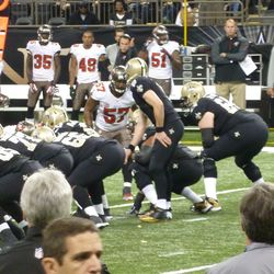 Brees gets a firm grasp of DLPs butt cheeks.