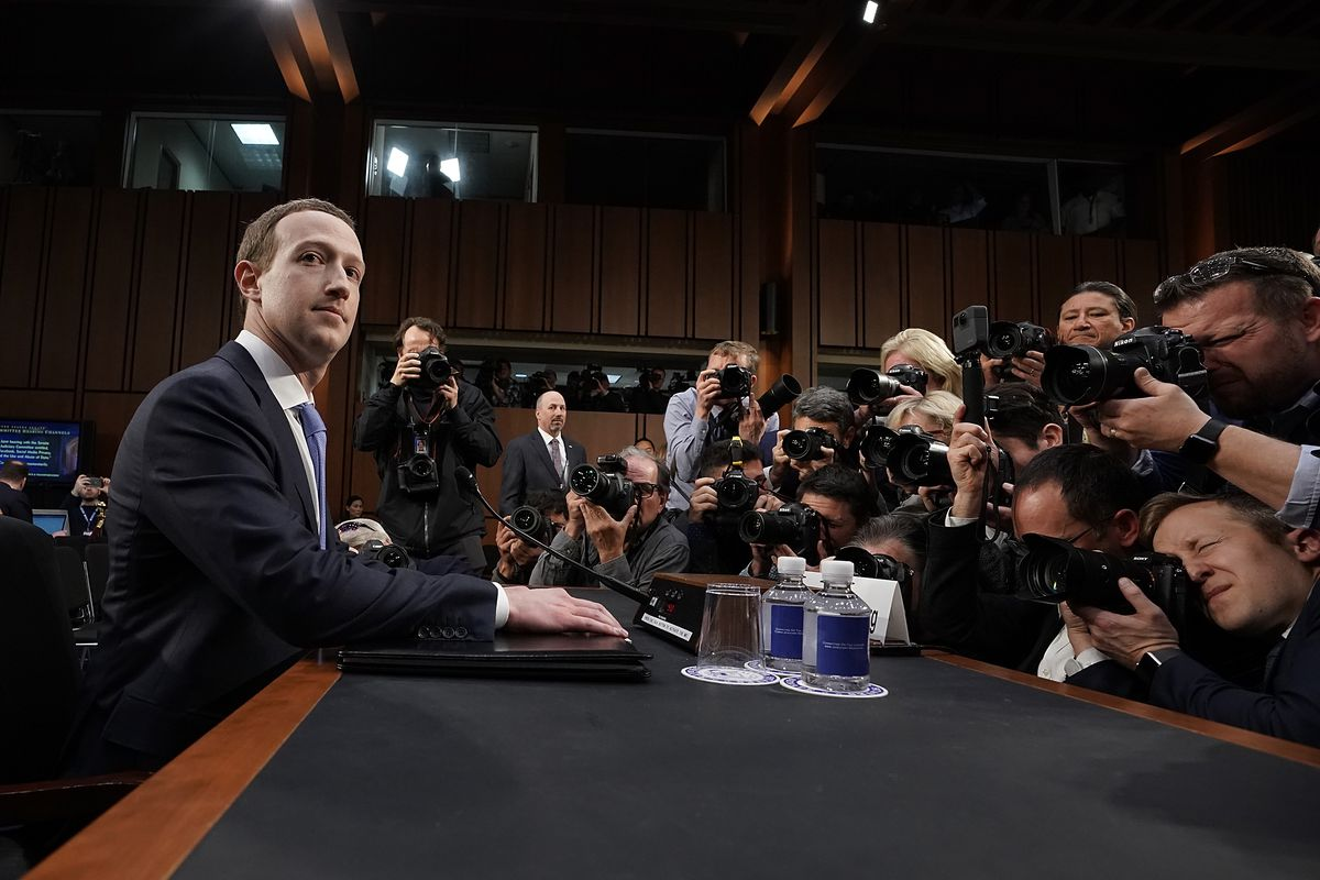 Image result for zuckerberg sworn in