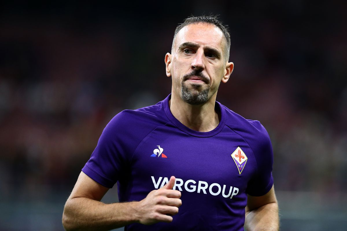 Image result for ribery injury fiorentina