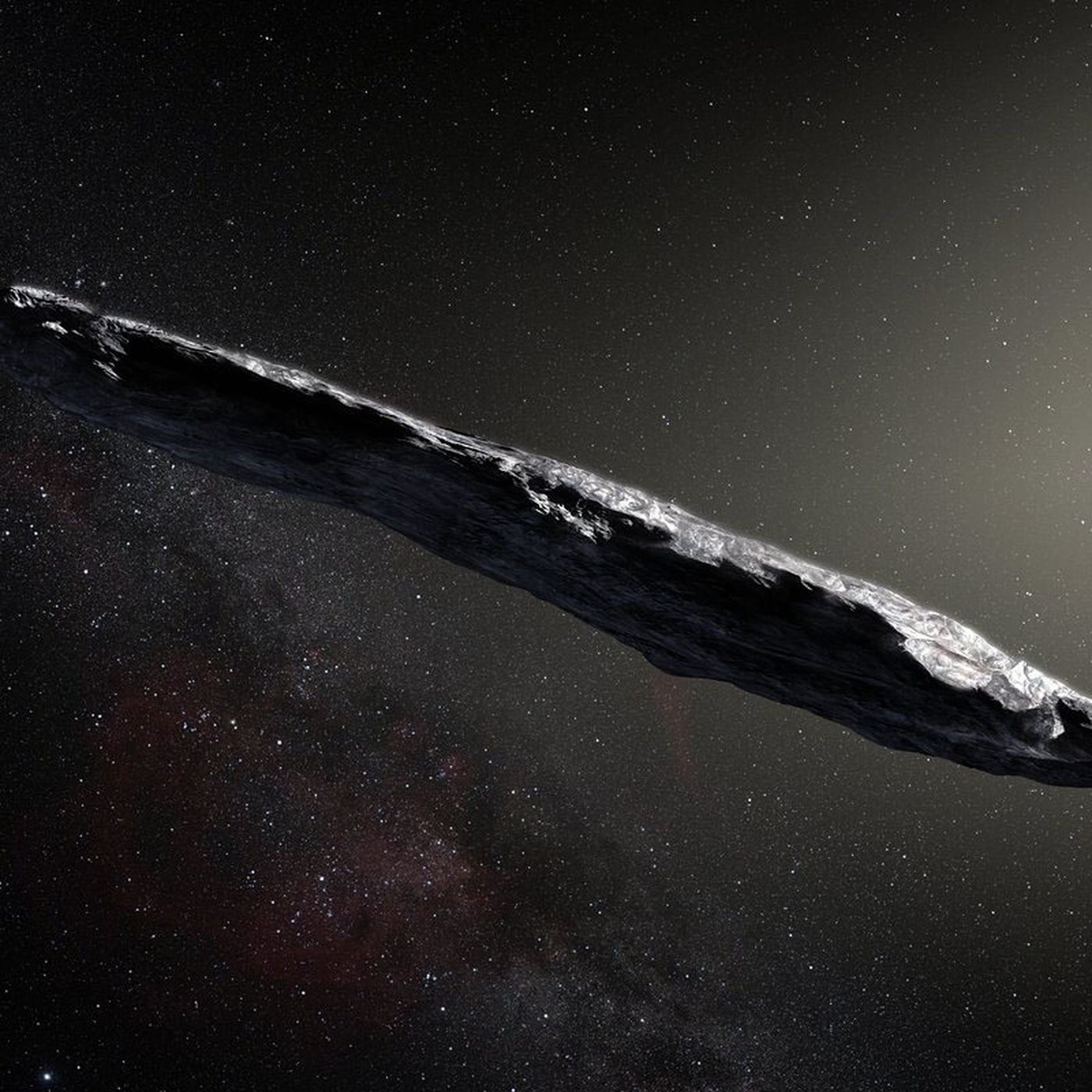 Oumuamua, a mysterious interstellar rock, is very likely not