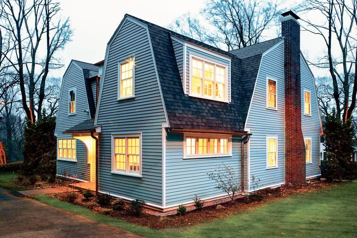 Newton Centre house exterior