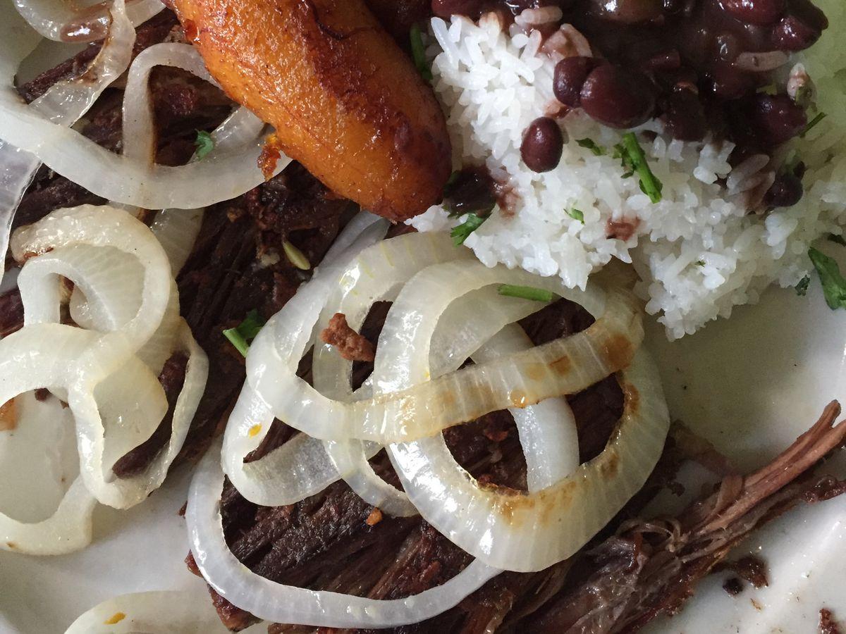 A dish at Cubano's Restaurant