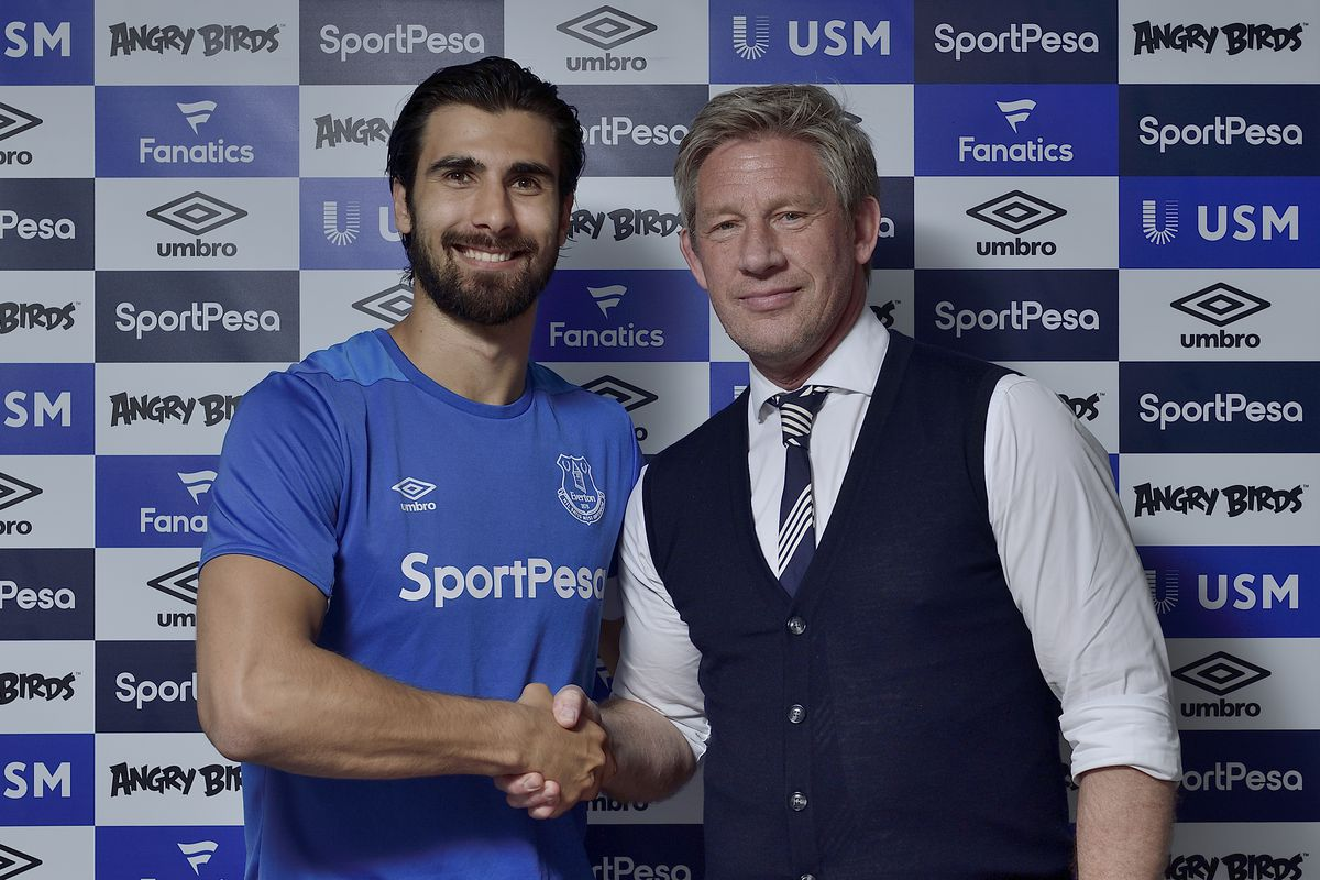 Everton Unveil New Signing Andre Gomes