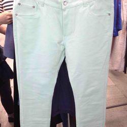 Mugler jeans, $160 (were $595)