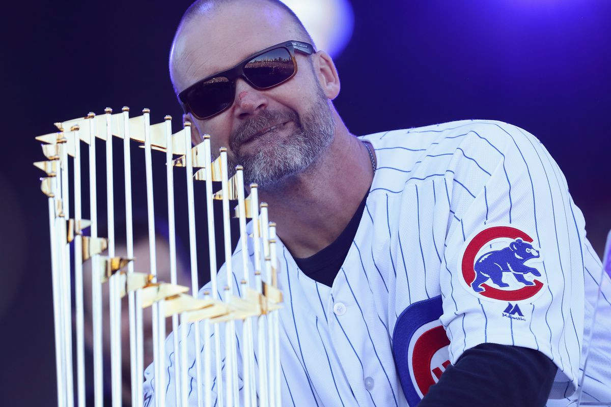 David Ross 'very attractive candidate' for Cubs manager job; Mark Loretta, Mike Maddux might join mix