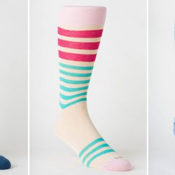 """<b>hook + ALBERT</b> Dress Socks at <b>Scoop NYC</b>: This NYC sock maker is dedicated to building the best dress sock (<a href=""""http://www.hookandalbert.com/dress-socks-at-hook-CID266.aspx"""">$30-$35</a>), with features like a doubled-over calf band, a Y-s"""
