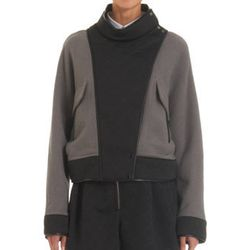 """<strong>3.1 Phillip Lim</strong> Quilted Paneled Knit Moto Jacket, <a href=""""http://www.barneys.com/on/demandware.store/Sites-BNY-Site/default/Product-Show?pid=503084869&cgid=womens-jackets&index=13"""">$825</a> at Barneys New York"""