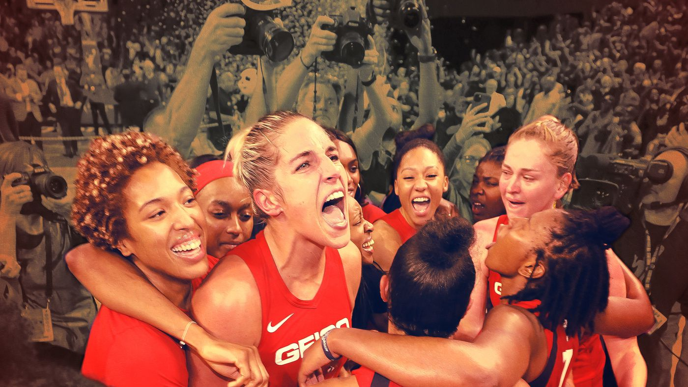 Elena Delle Donne and the Mystics Won Their First WNBA Championship