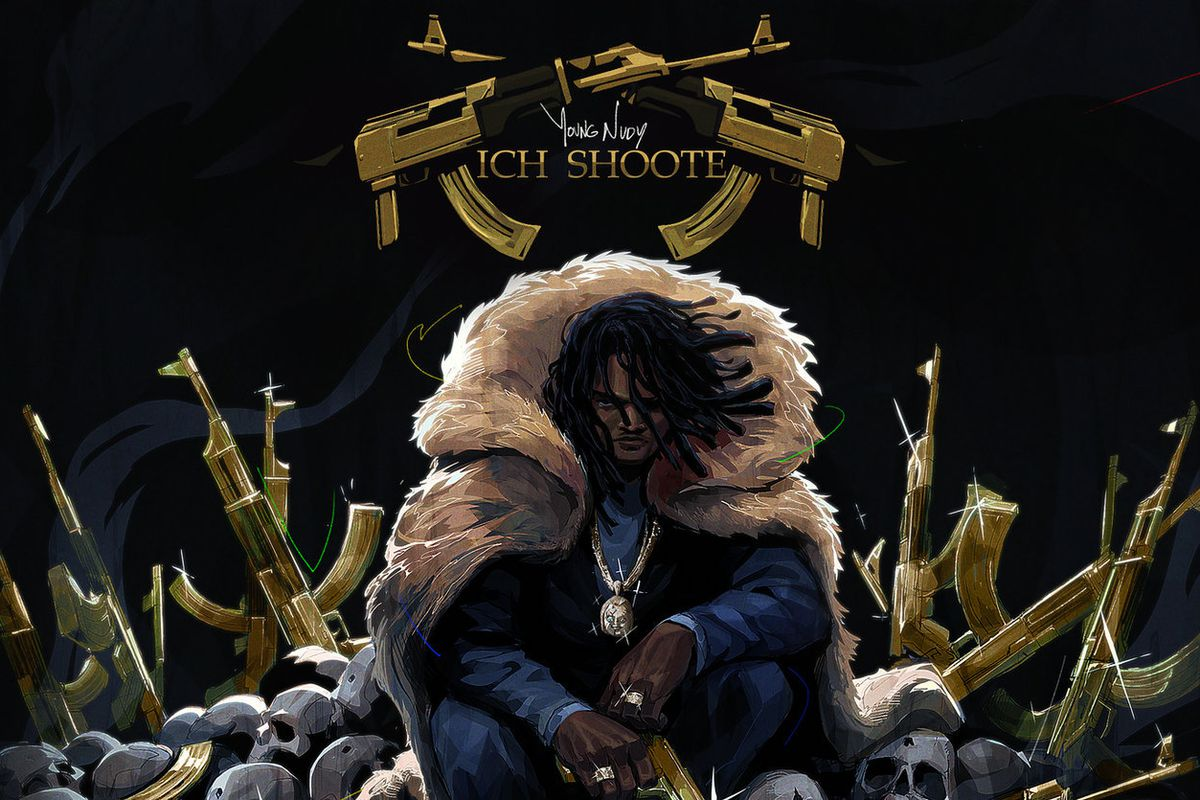 Young Nudy's 'Rich Shooter' artwork