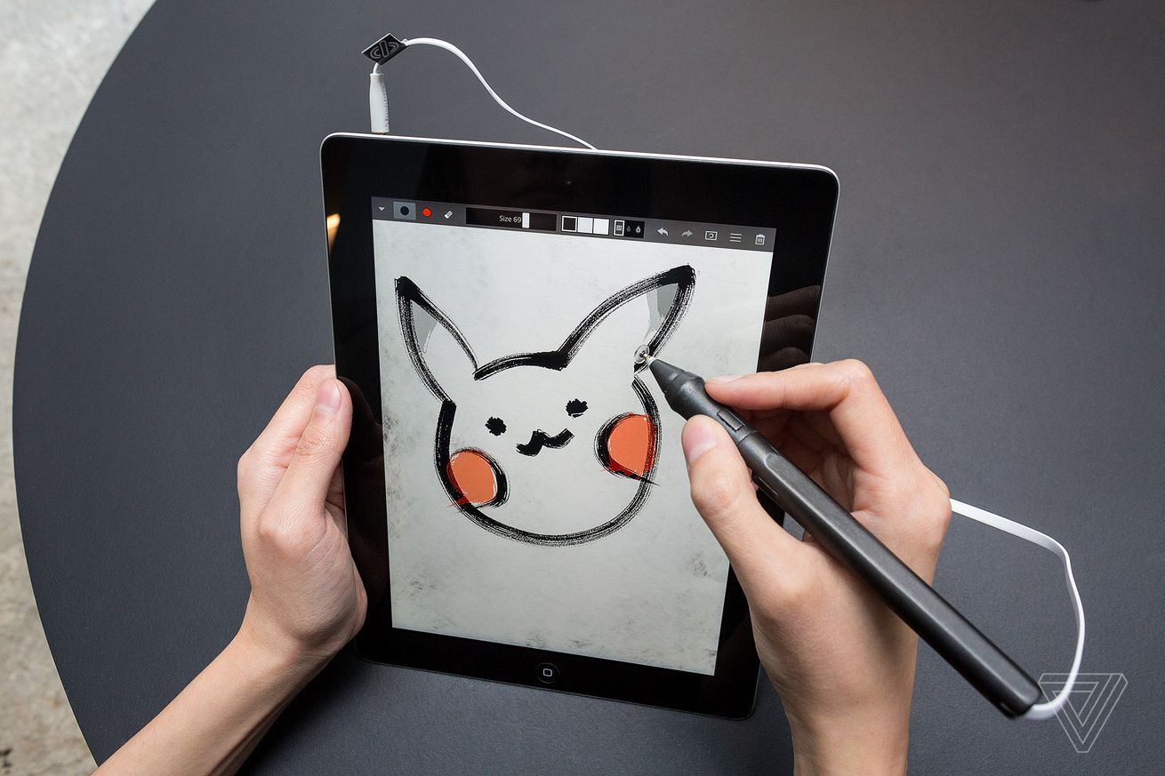 sonarpen is a 30 ipad stylus that connects to the headphone jack
