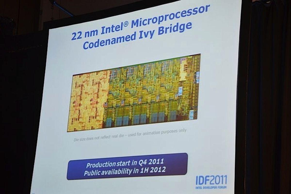 Ivy Bridge Roadmap