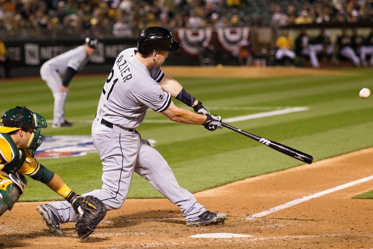 This swing produced a homer.