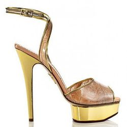 Feather Sandal: $995