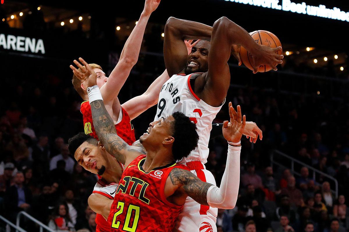 Toronto Raptors v Atlanta Hawks