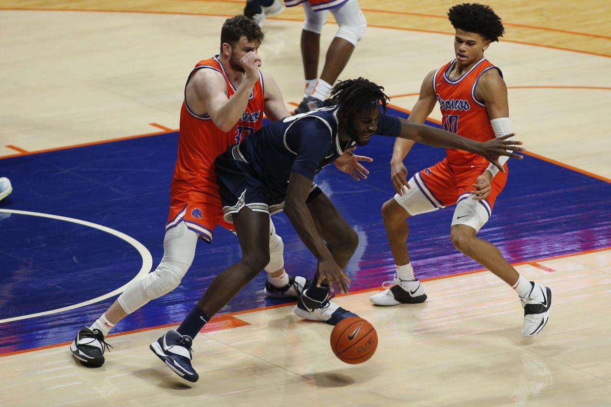 NCAA Basketball: Utah State at Boise State