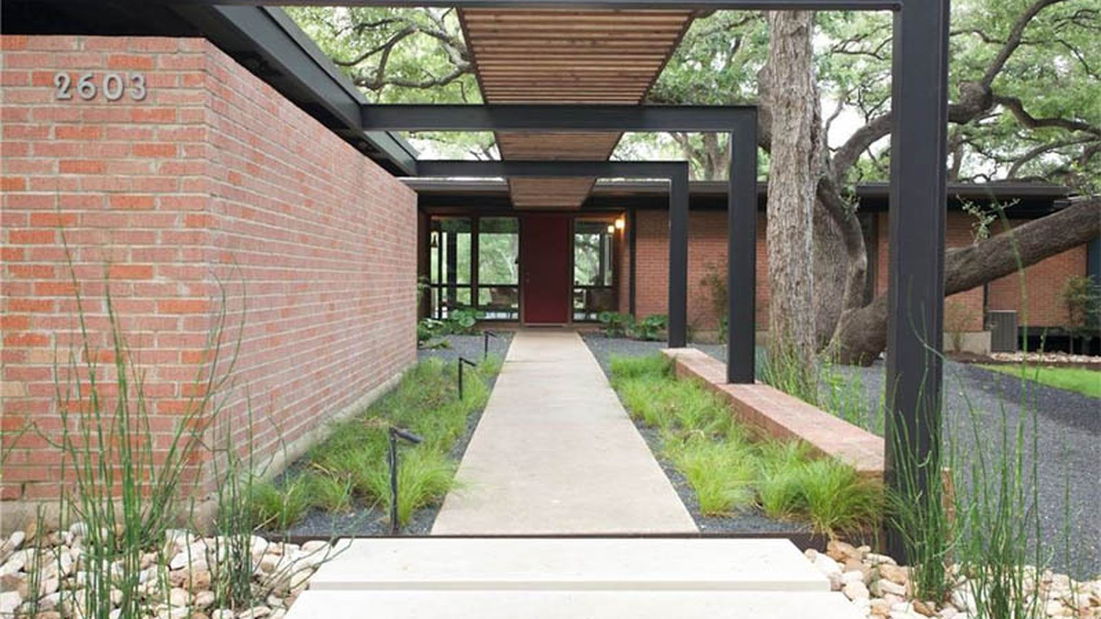 Midcentury masterpiece drops asking price to 1 2m for Contemporary homes for sale in austin