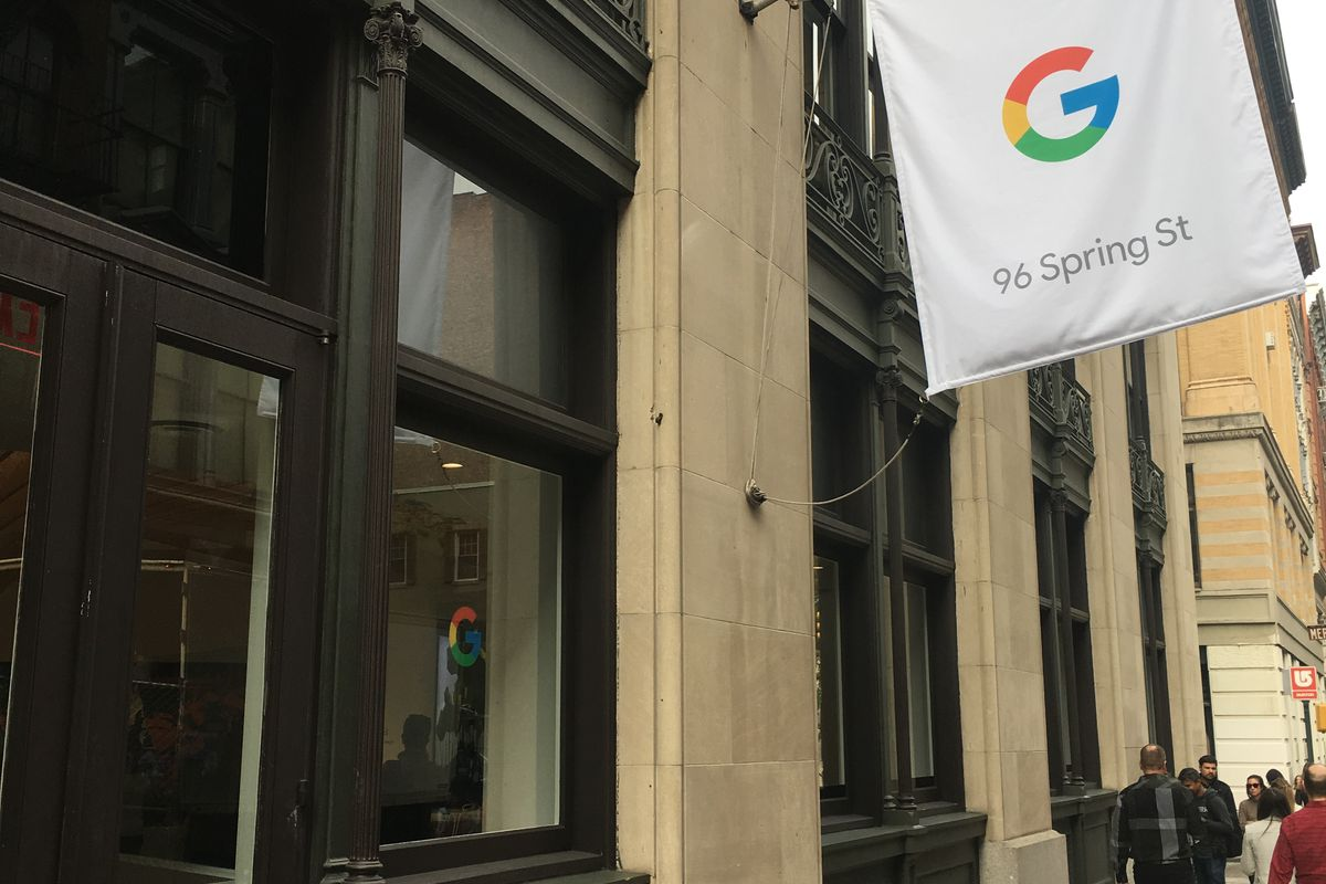 Google S New York City Pop Up Shop Is Now Open The Verge