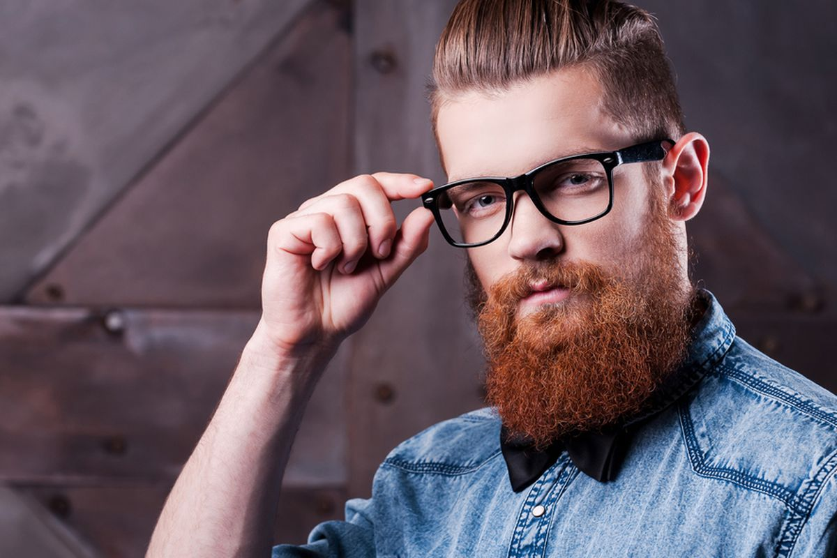 Trendy Beards Thick Rimmed Glasses Or Macklemore Style Haircuts