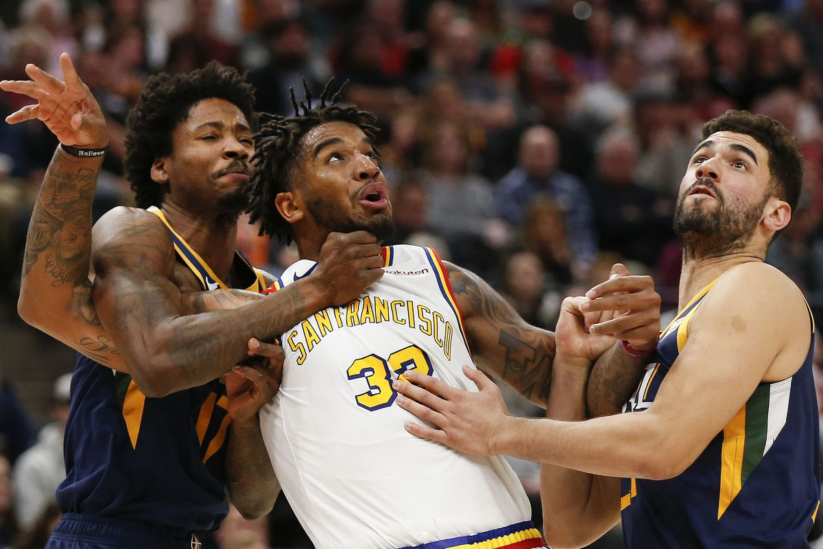 Utah Jazz keep their composure as they overcome sluggish first half to defeat Golden State Warriors