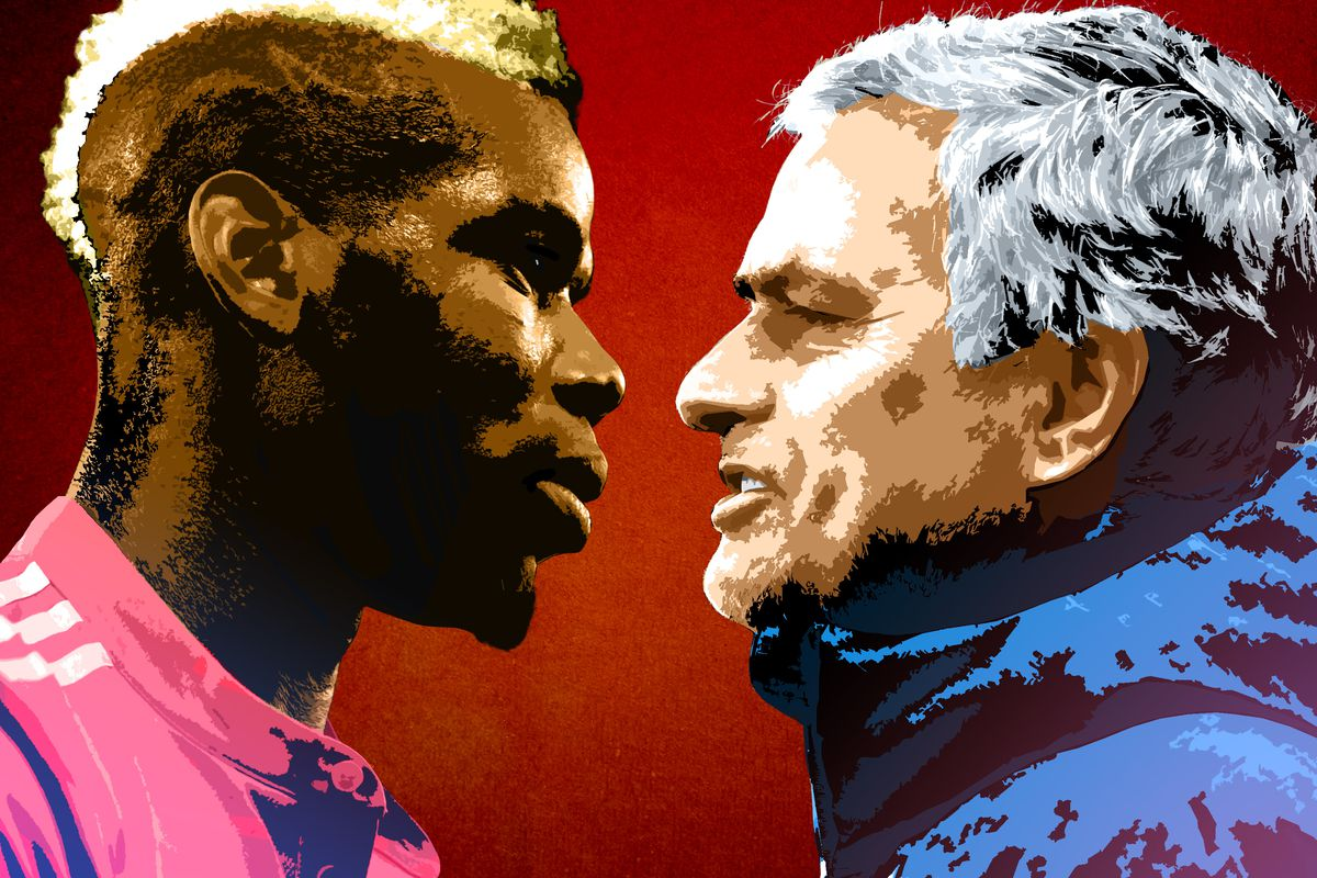 7dc306562e908 Why Is José Mourinho Picking a Fight With Paul Pogba? - The Ringer
