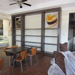 Another view of the dining room at Chocolate & Spice.