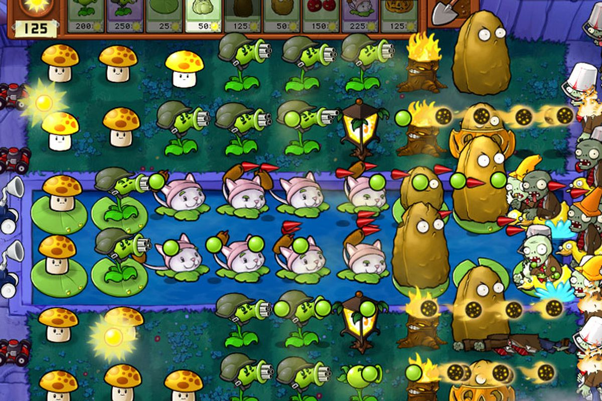 Plants vs  Zombies' iOS update adds new levels in a Last