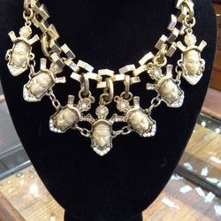 Lulu Frost hand painted necklace $180