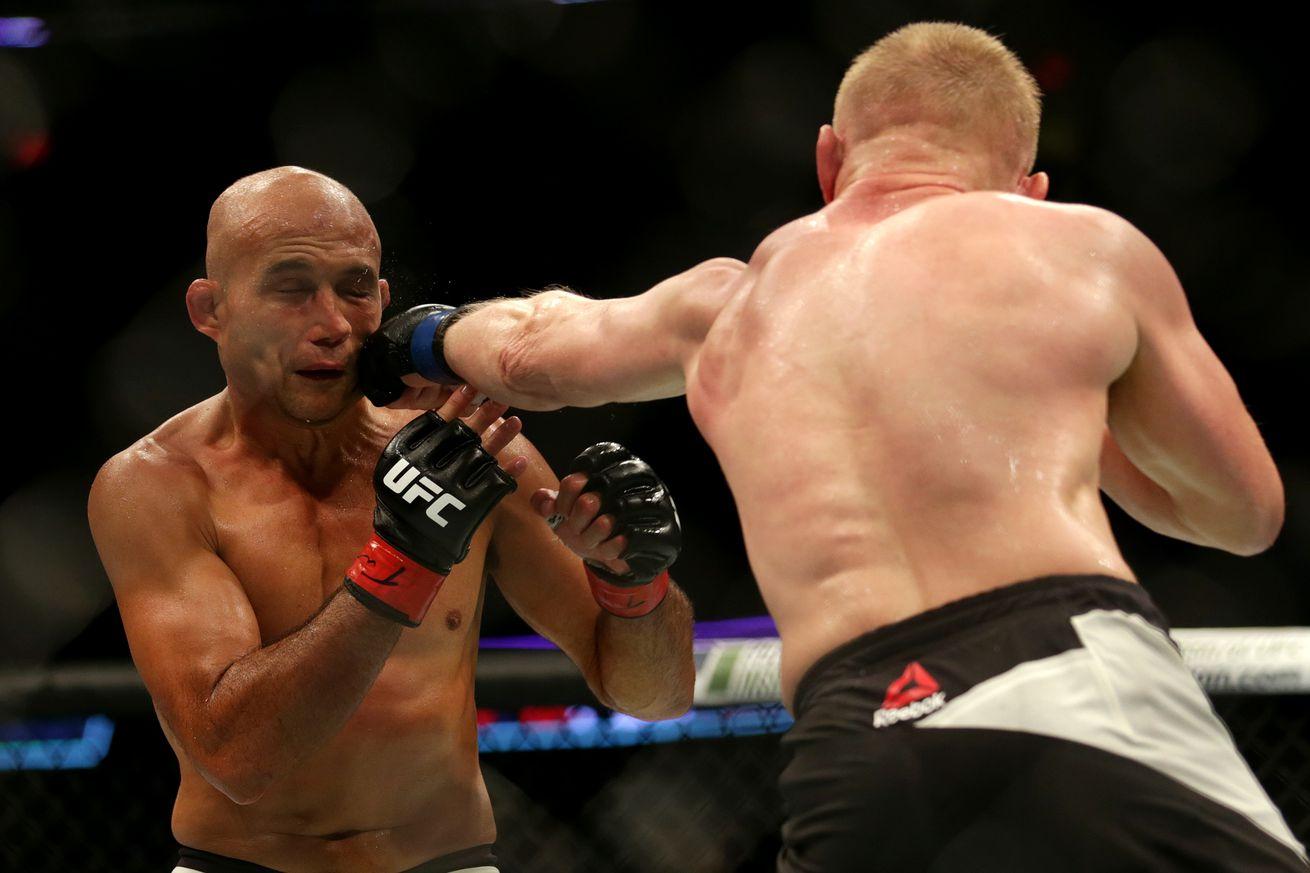 UFC Fight Night 112 salaries: B.J. Penn cashes $150,000 in defeat