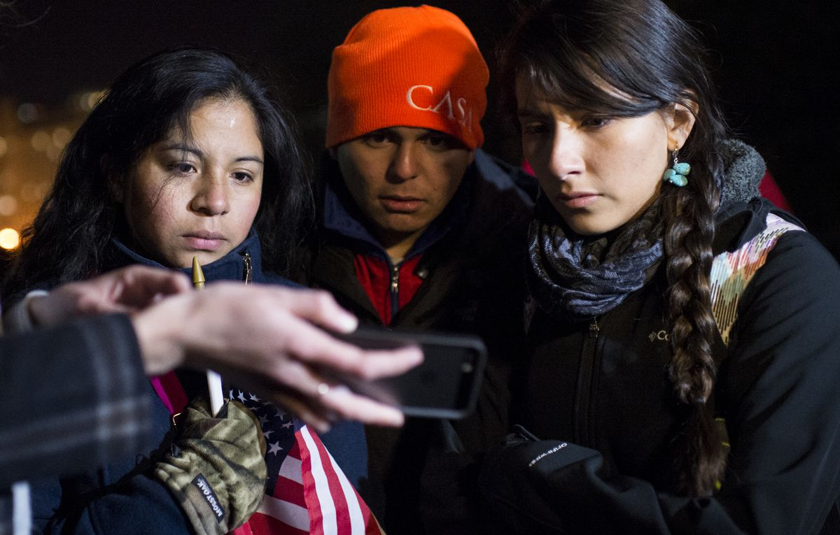 Young activists watch President Obama's immigration speech with mixed emotions.