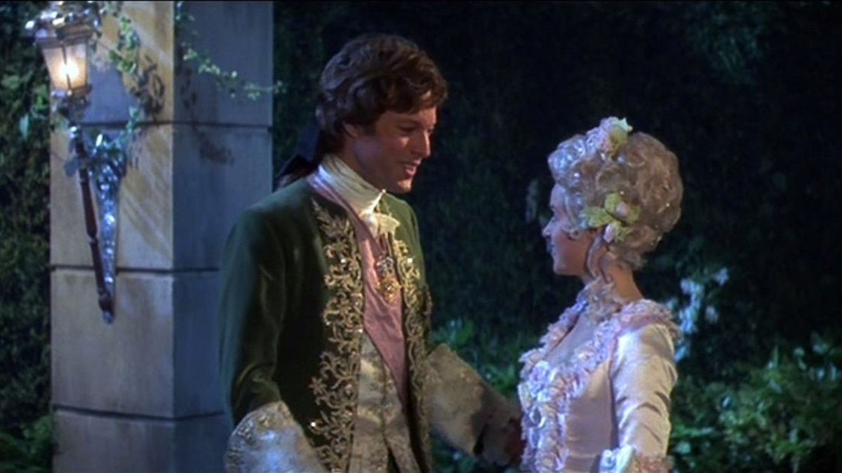 the prince and cinderella meet at the ball