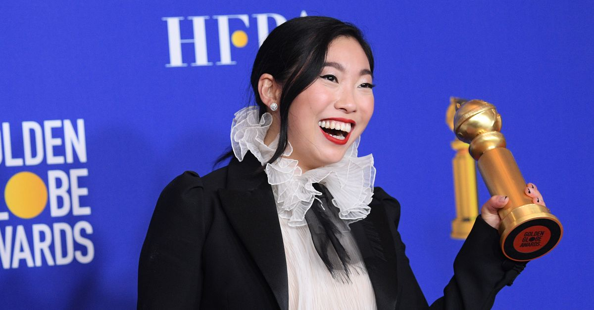 Awkwafina made history with her Golden Globe win for The Farewell