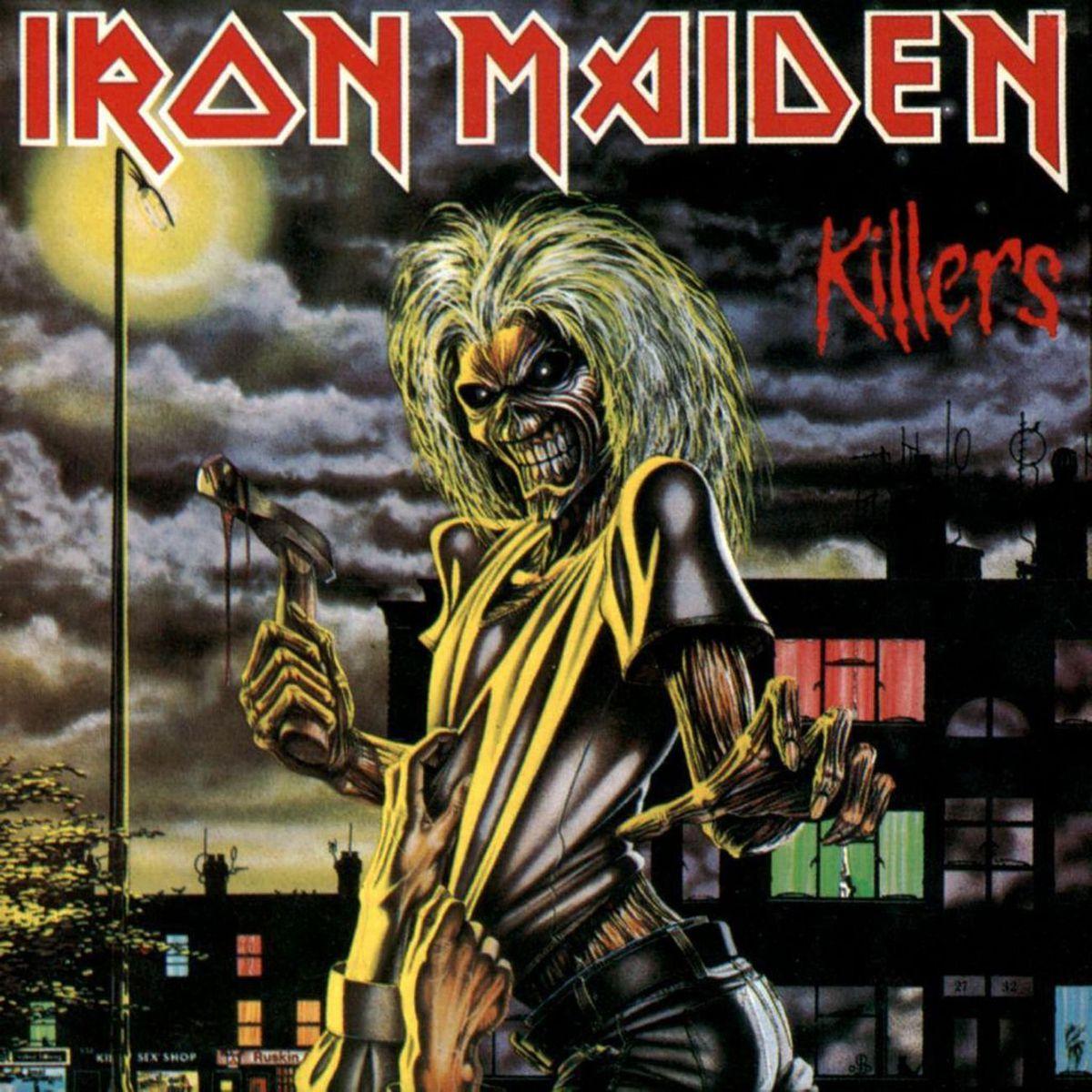 Iron Maiden's Killers album cover