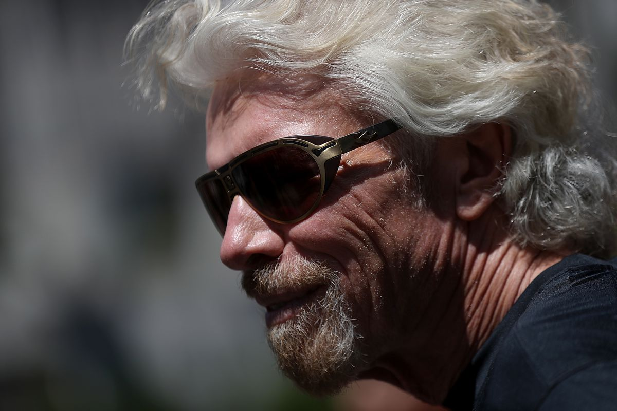 Richard Branson Announces Launch Of Virgin Sport San Francisco