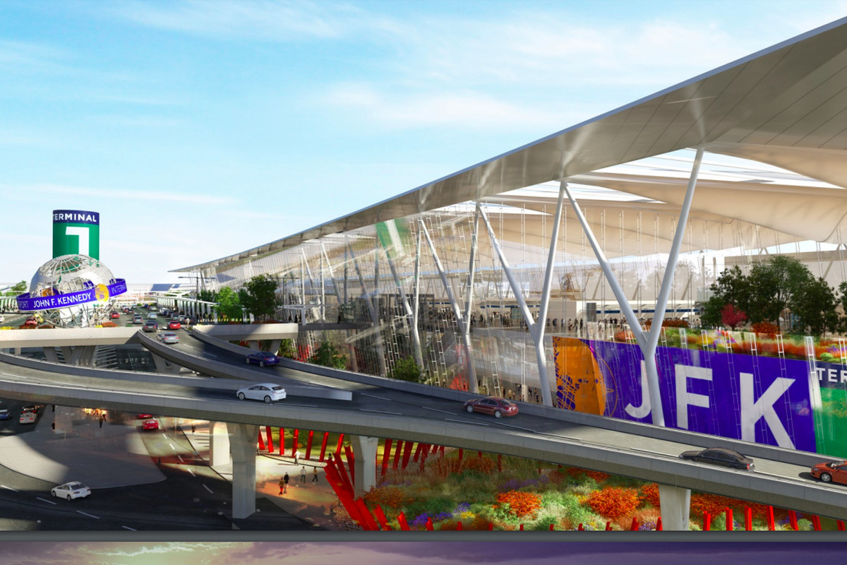 New looks at JFK Airport\'s forthcoming $13B overhaul - Curbed NY