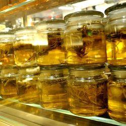More jars at Bacchanal Buffet.