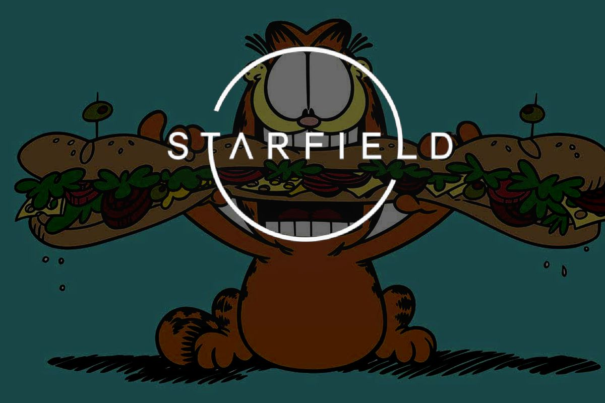Bethesda S Starfield Is A Garfield Game According To Meme Polygon