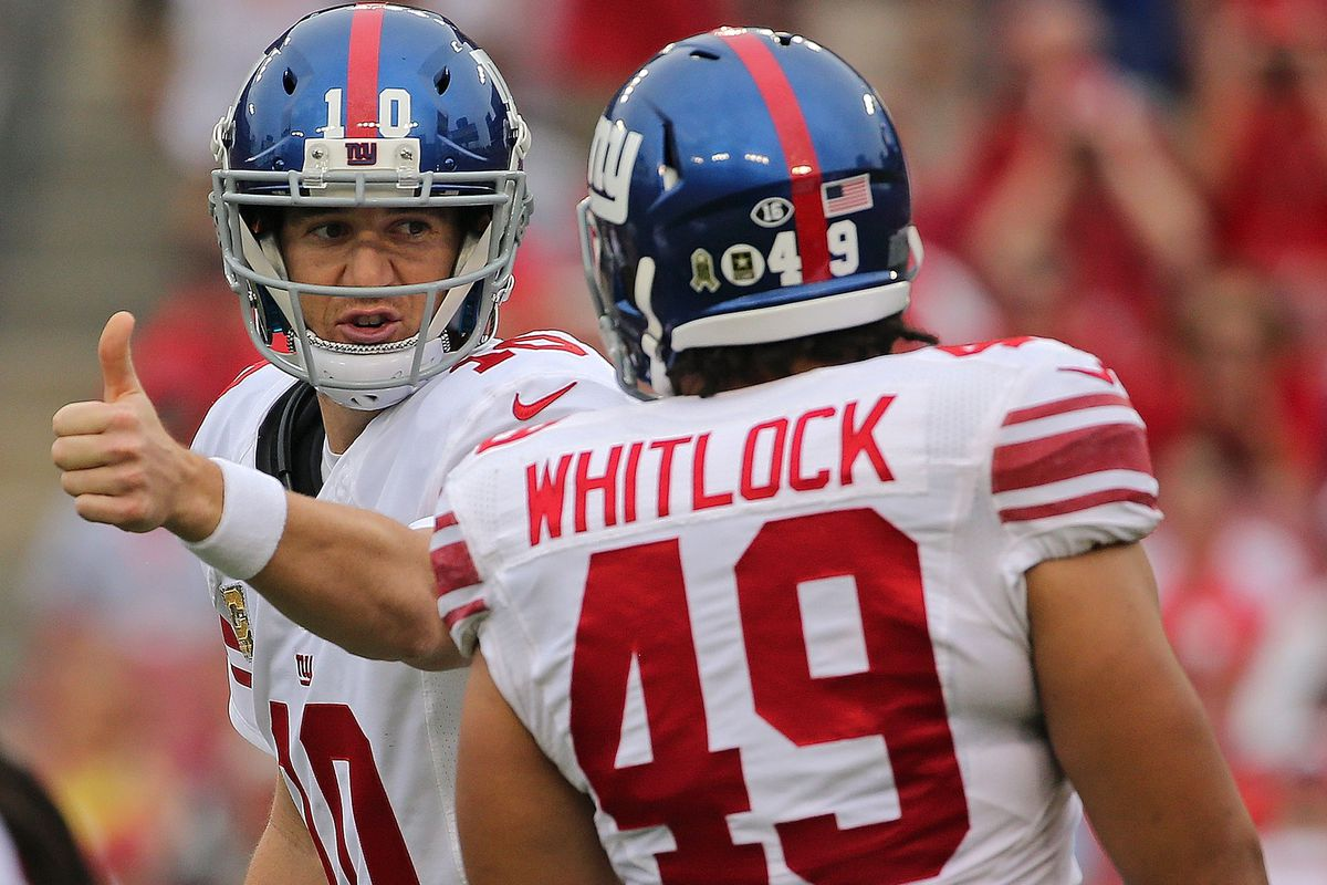 After Sunday's victory things are looking up for the Giants