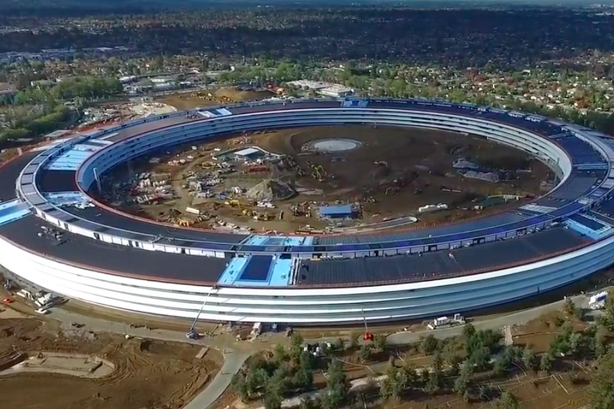 Apple Building Design Cupertino