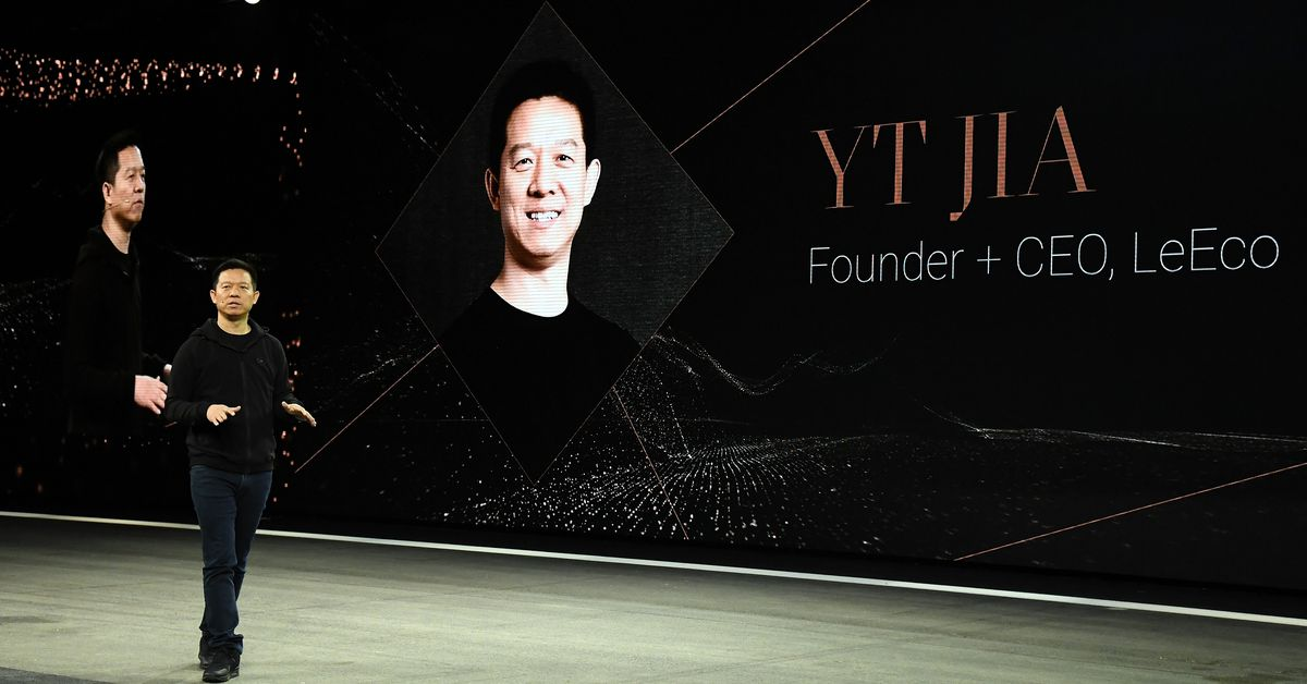 Faraday Future boss Jia Yueting no longer owns the company, sources say