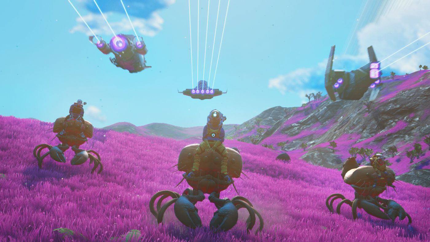 No Man's Sky Beyond update: new social hub, 32-player
