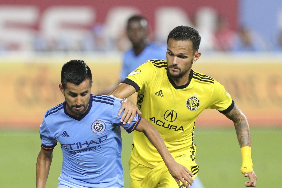 MLS: Columbus Crew at New York City FC