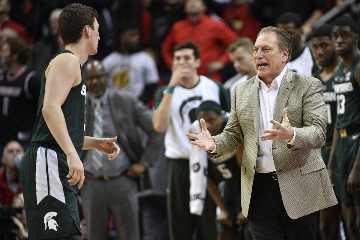 NCAA Basketball: Michigan State at Louisville